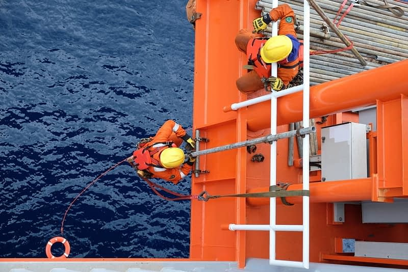 injured offshore